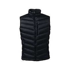 Lands' End - Black lightweight down gilet