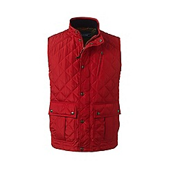 Lands' End - Red primaloft quilted gilet