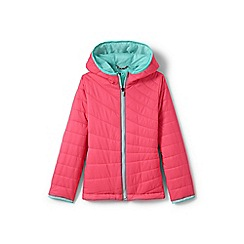 Lands' End - Girls' pink primaloft packable jacket