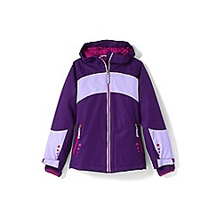 Lands' End - Girls' purple stormer jacket