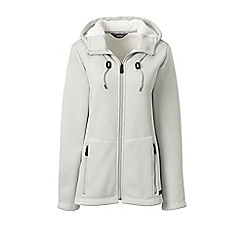 Lands' End - Grey plus hooded fleece