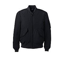 Lands' End - Black squall down bomber jacket
