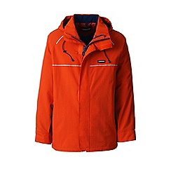 Lands' End - Brown squall system waterproof jacket