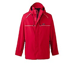 Lands' End - Red squall system waterproof jacket
