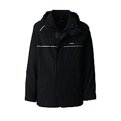 Lands' End - Black squall system waterproof jacket