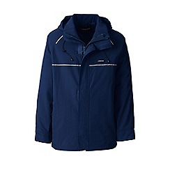 Lands' End - Blue squall system waterproof jacket
