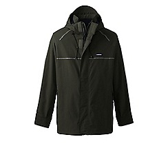 Lands' End - Green squall system waterproof jacket