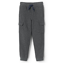 Lands' End - Grey boys' iron knee cargo sweatpants
