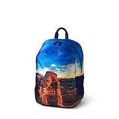 Lands' End - Multi kids' photo real backpack