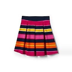 Lands' End - Girls' pink ponte jersey skirt