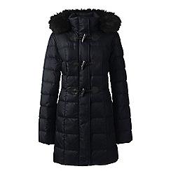 Lands' End - Black down duffle coat