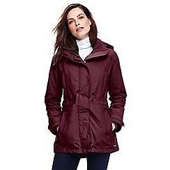 Lands' End - Red waterproof short coat