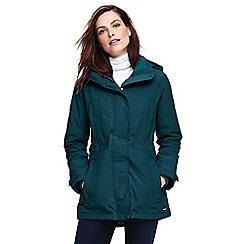 Lands' End - Green petite squall coat