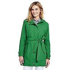 Lands' End - Green metro rain coat