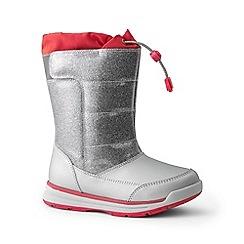 Lands' End - Purple snow flurry boots