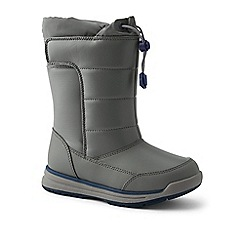Lands' End - Grey snow flurry boots