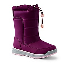 Lands' End - Purple snow flurry boots