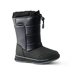 Lands' End - Black snow flurry boots