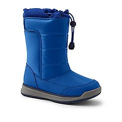 Lands' End - Blue snow flurry boots