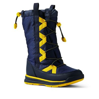 Lands' End - Dark blue squall winter boots