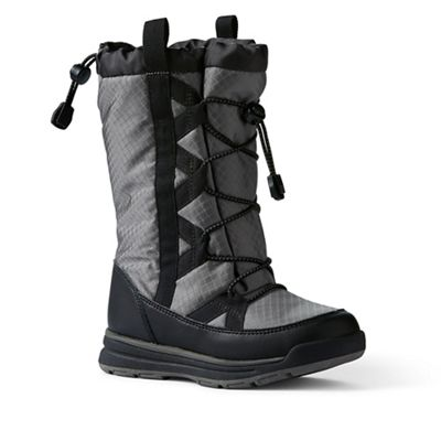 Lands' End - Dark grey squall winter boots