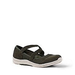 Lands' End - Green regular comfort mary jane shoes