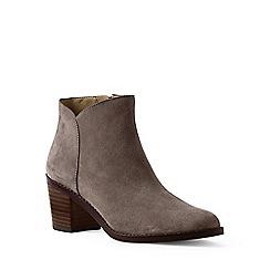 Lands' End - Brown regular suede ankle boots