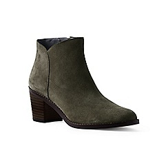 Lands' End - Green regular suede ankle boots