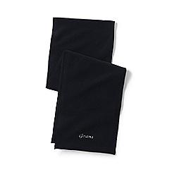 Lands' End - Black thermacheck-200 fleece scarf