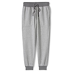 Lands' End - Grey loopback jersey joggers