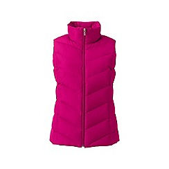 Lands' End - Pink down gilet