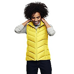 Lands' End - Yellow water resistant down gilet
