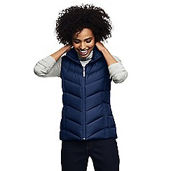 Lands' End - Blue water resistant down gilet