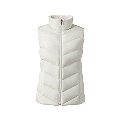 Lands' End - Cream water resistant down gilet