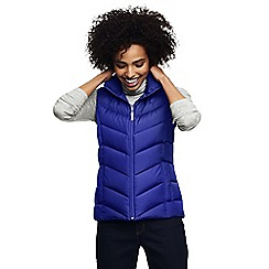 Lands' End - Purple petite down gilet