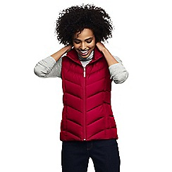 Lands' End - Red petite down gilet