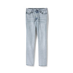 Lands' End - Blue High Rise Indigo Straight Leg Jeans