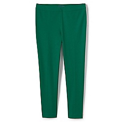 Lands' End - Green slim leg stretch trousers