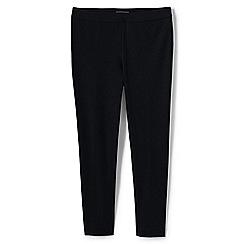 Lands' End - Black slim leg stretch trousers
