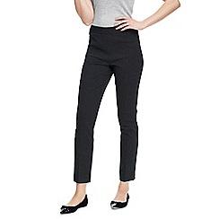 Lands' End - Black slim leg mini dot stretch trousers