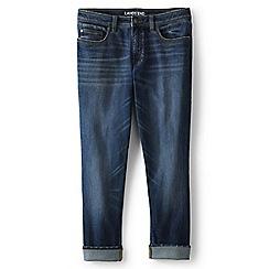 Lands' End - Blue girlfriend jeans