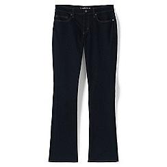 Lands' End - Blue demi bootcut jeans