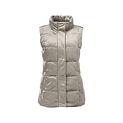 Lands' End - Metallic velour gilet