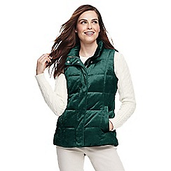 Clearance Authentic Cheap Latest Collections Womens Petite Velour Gilet - 10 -12 Lands End Collections Cheap Price KcvbOblS