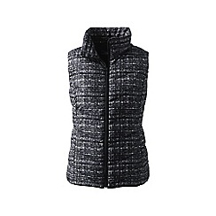 Lands' End - Multi tall down patterned gilet
