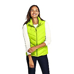 Lands' End - Green tall down gilet