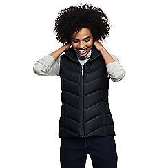 Lands' End - Black tall down gilet