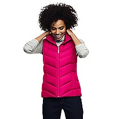 Lands' End - Pink tall down gilet