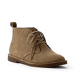Lands' End - Beige suede chukka boots