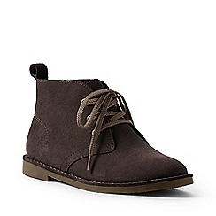 Lands' End - Brown suede chukka boots